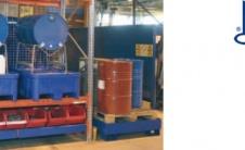 RB - Сливные поддоны под бочки и IBC контейнеры