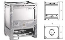 RF - IBC контейнер с упрочняющей рамой